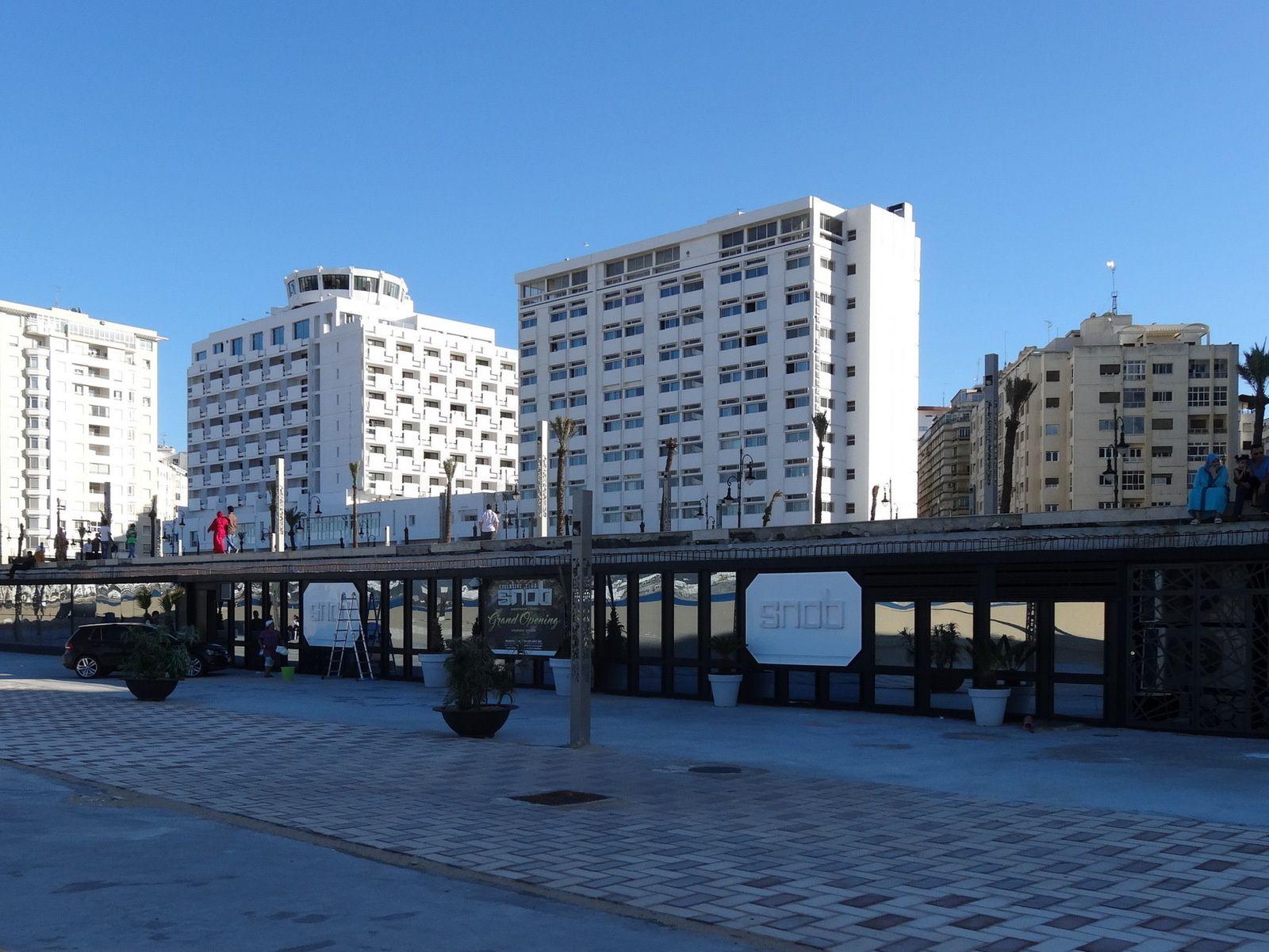 Promenade sur la corniche de Tanger (partie basse : 5 photos)