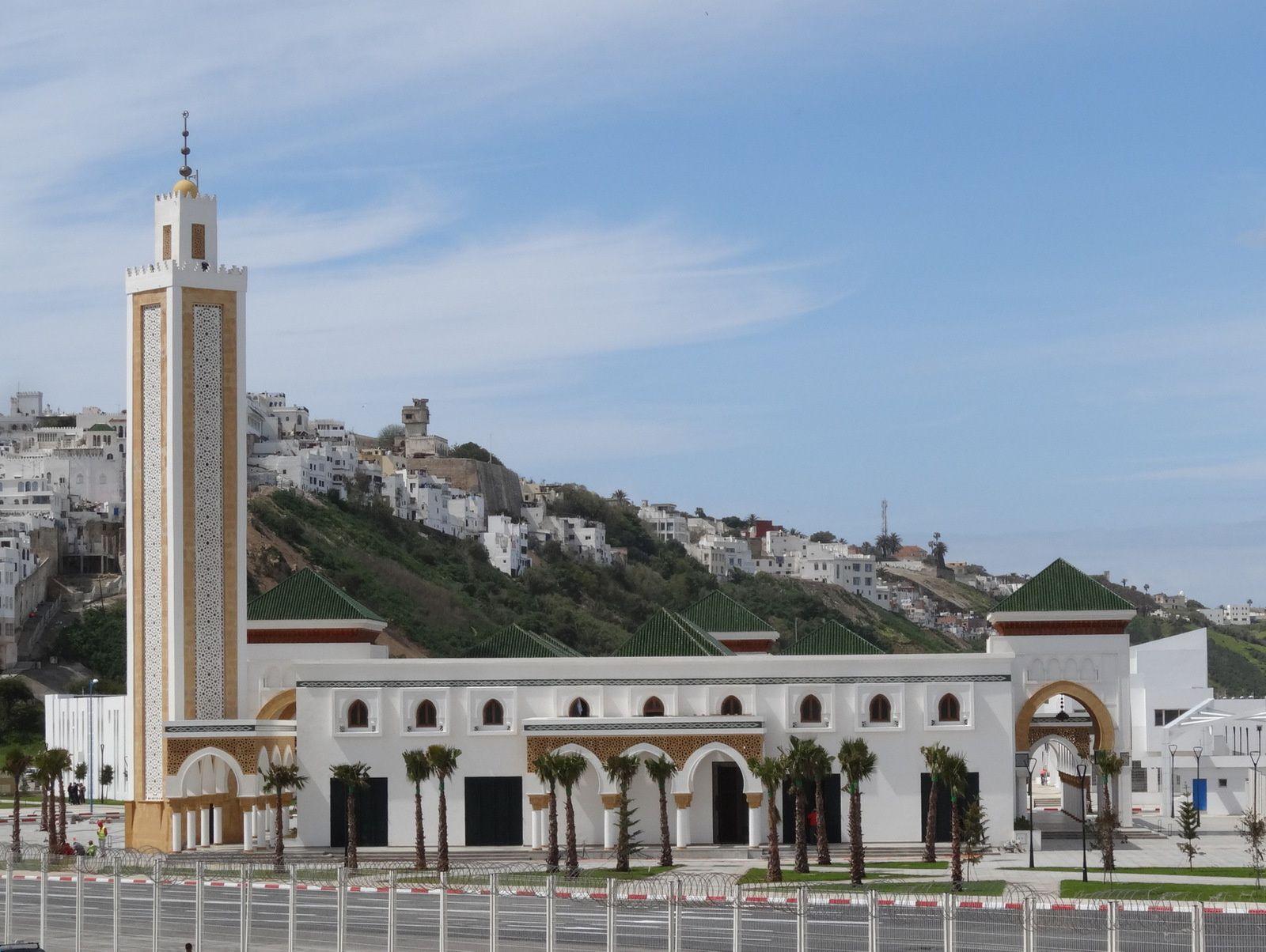 La nouvelle mosquée du Port de Tanger (5 photos)