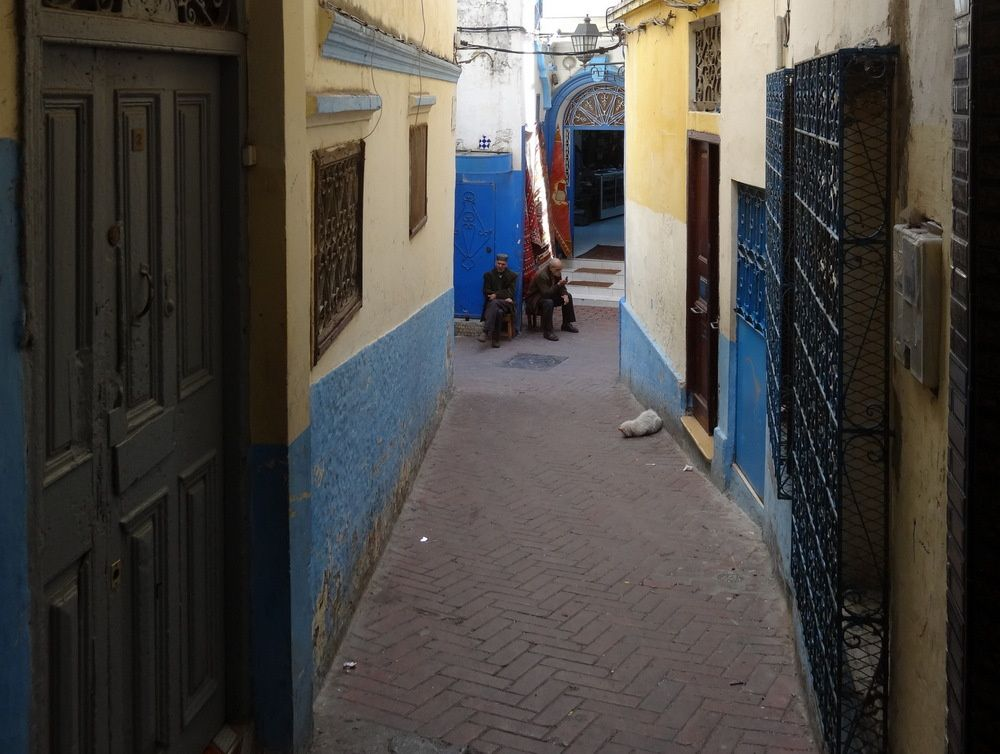 Ruelle de la Médina de Tanger