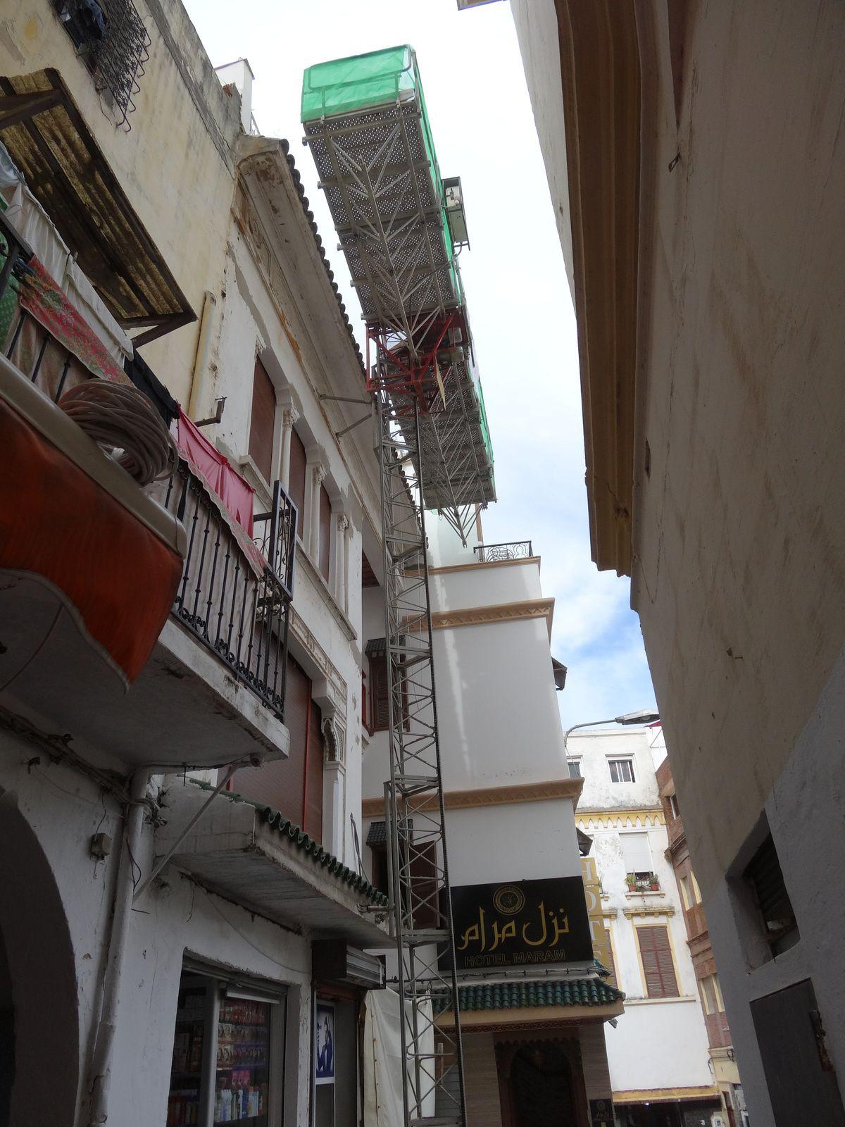 La modernisation des chantiers à Tanger