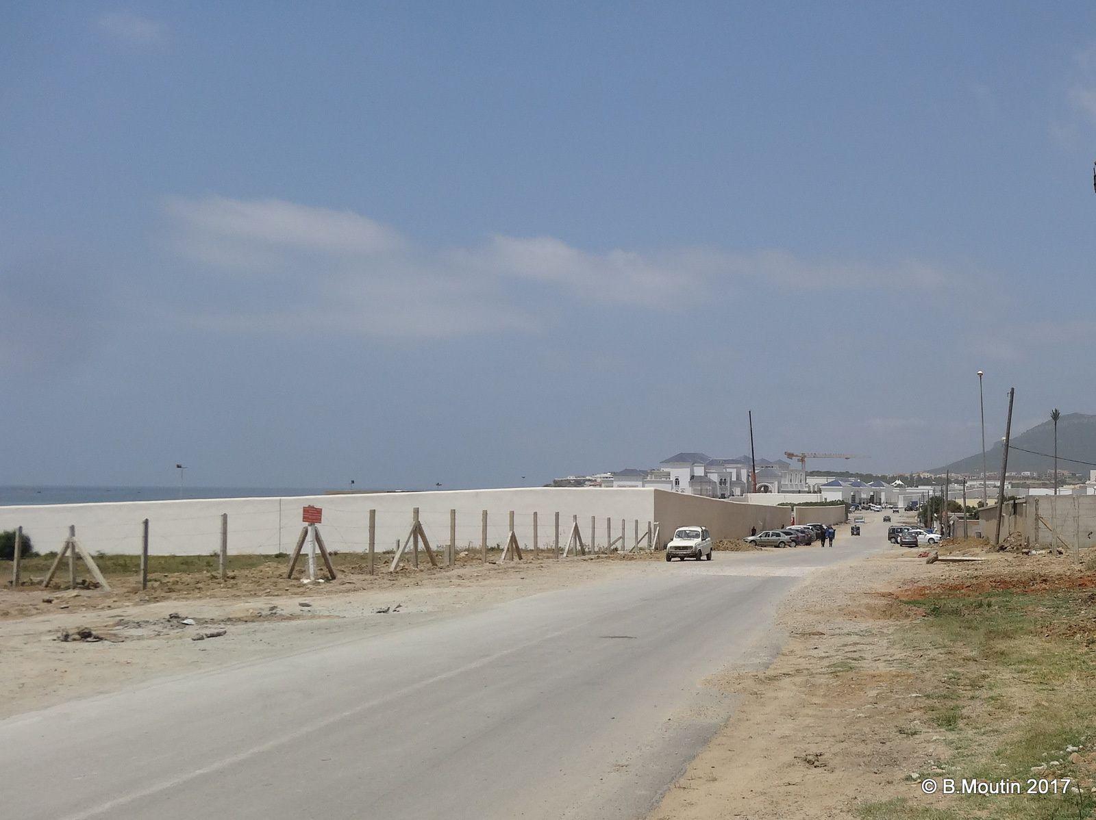 Le nouveau Palais du Roi d'Arabie Saoudite en construction à Tanger