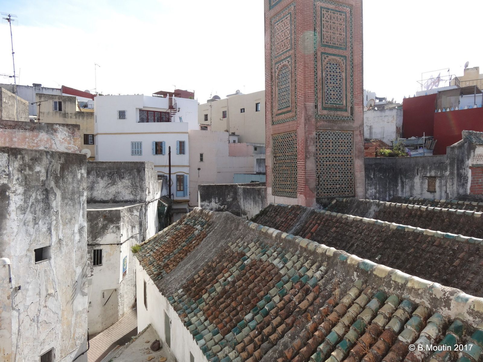 La Mosquée Jamaa Jdid dans la Médina de Tanger (5 photos)
