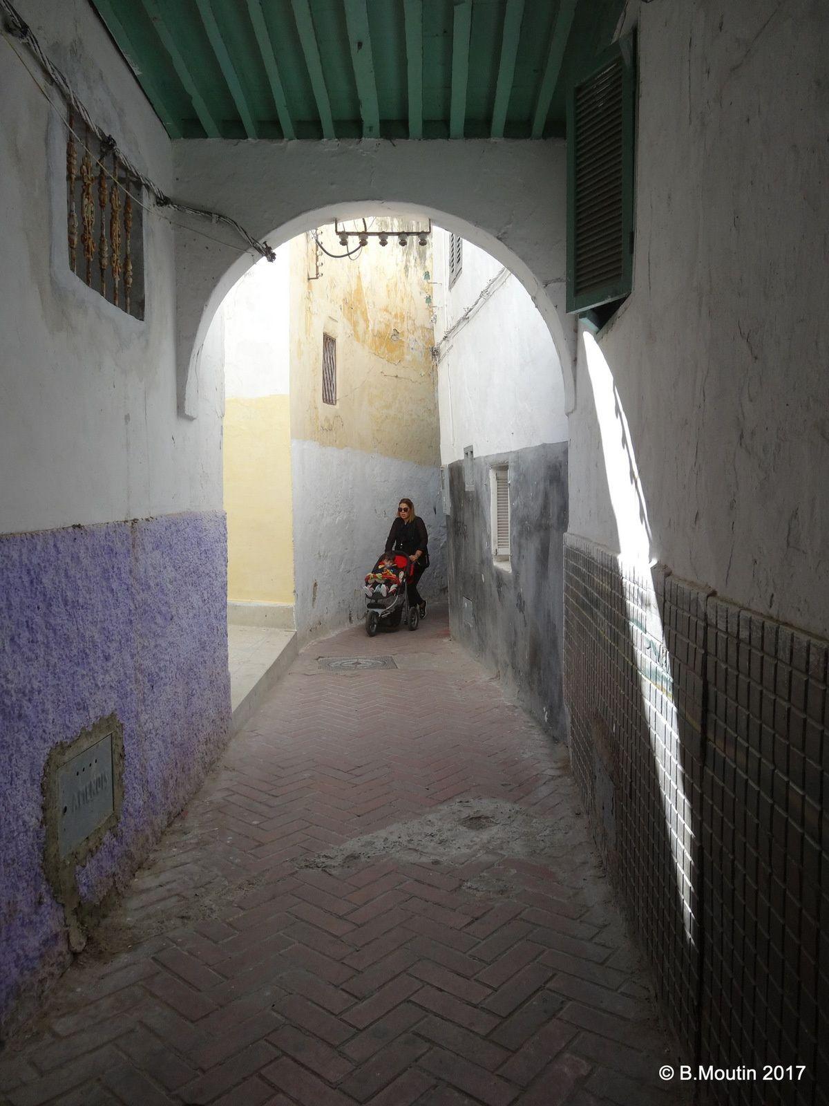 Ruelles de la Médina de Tanger