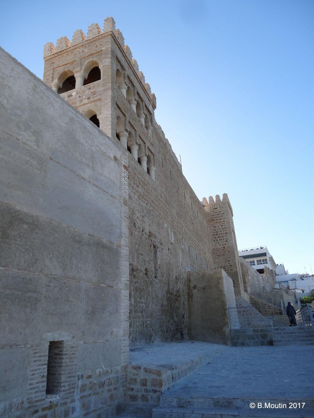 La reconstruction du château d'YORK à Tanger vue sous différents angles (5 photos)