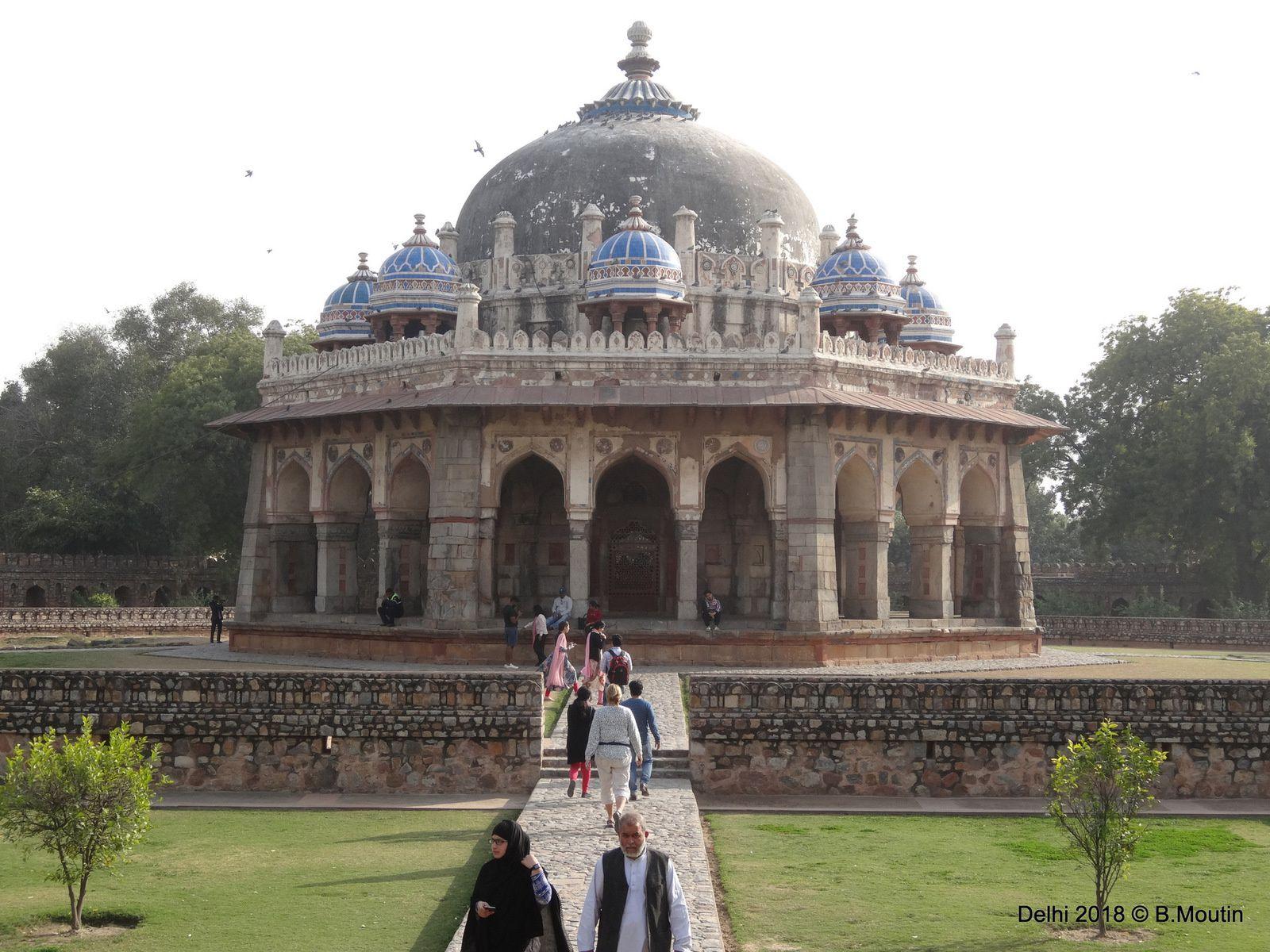 Le Mausolée d'Humayun à Delhi, qui inspira le TAJ MAHAL (7 photos)