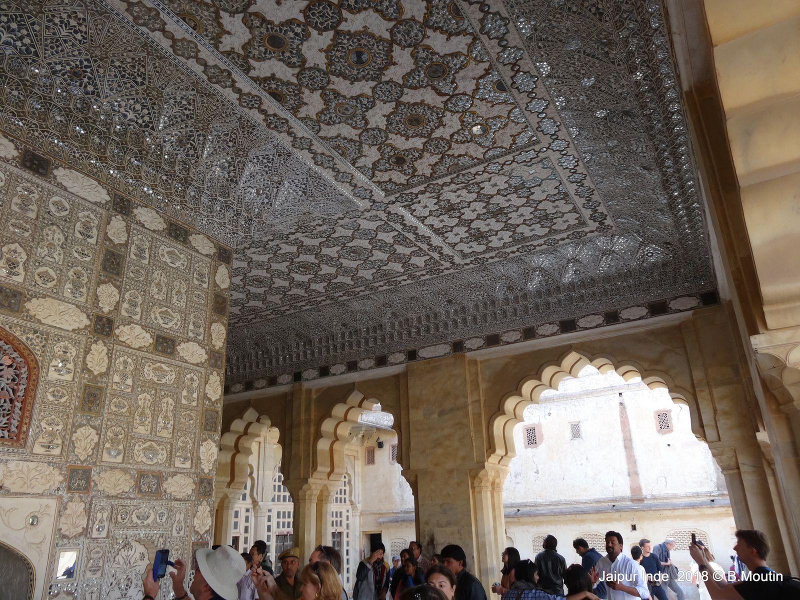 L'intérieur du Fort Amber à Jaipur (12 photos)