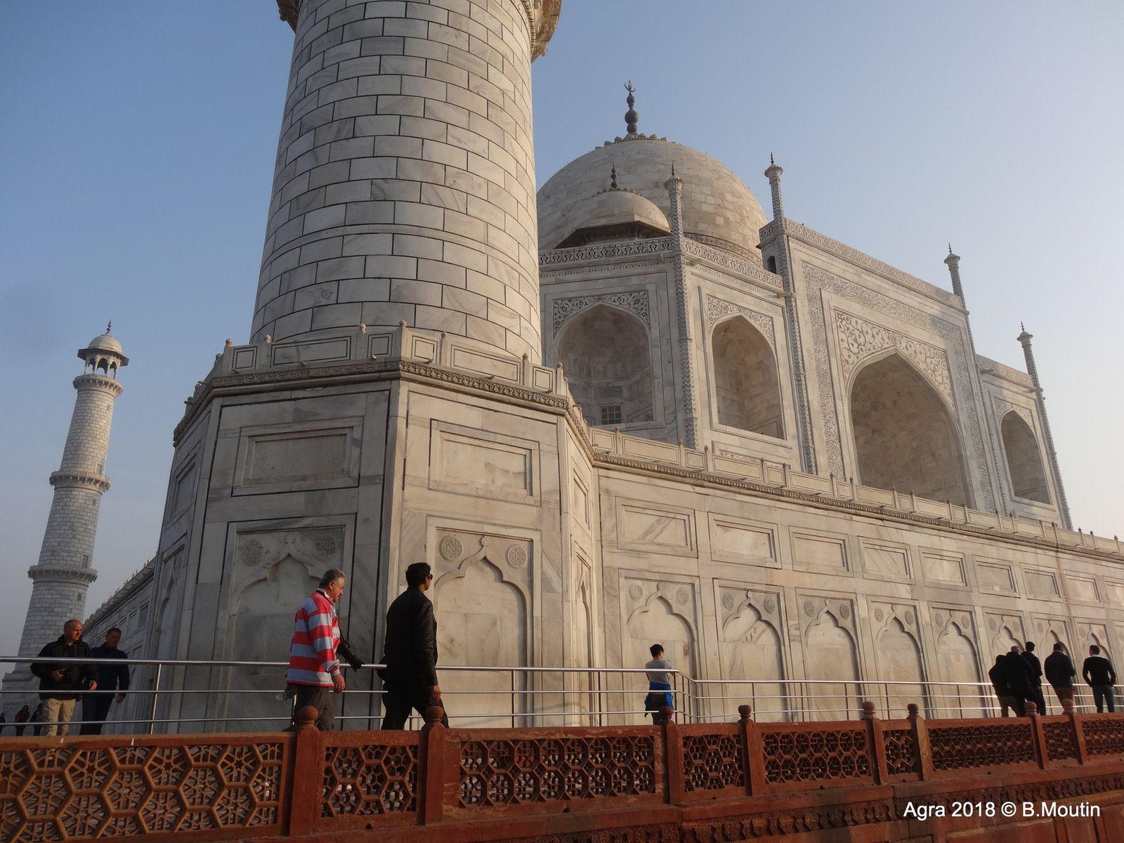 D'autres vues du TAJ MAHAL (8 photos)