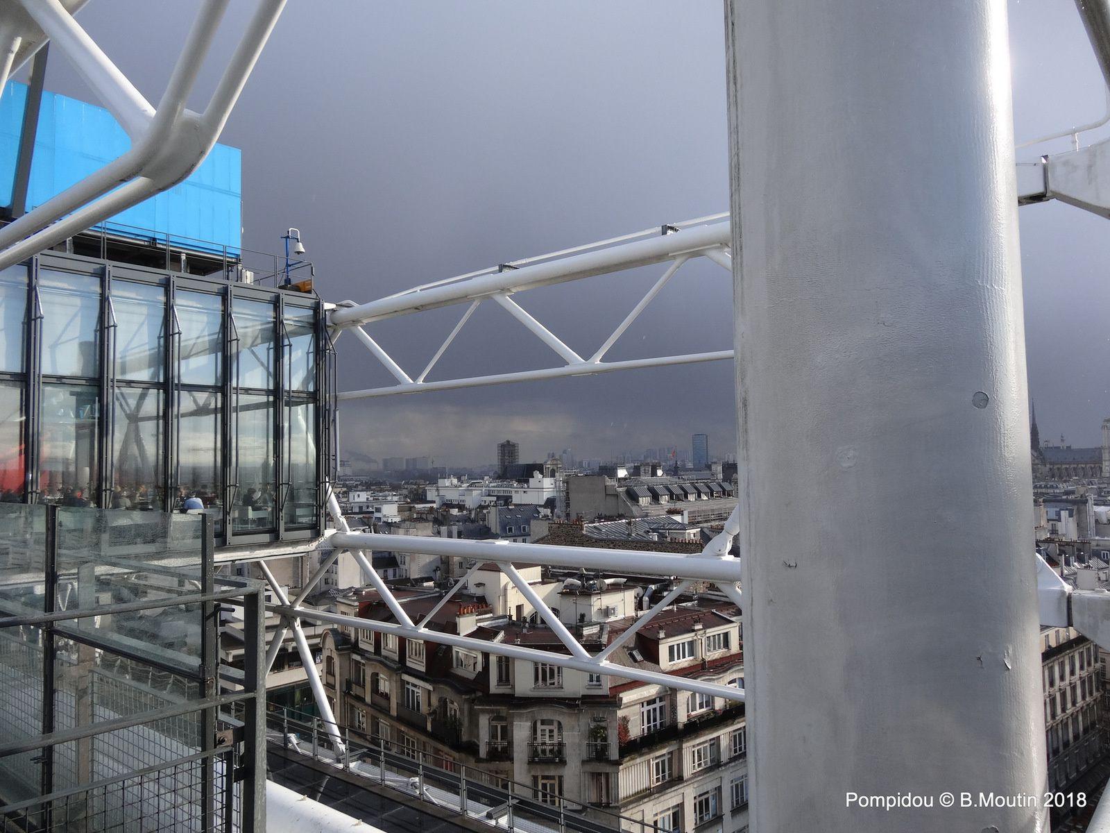 Le Centre Pompidou à Paris toujours jeune (6 photos à cliquer)