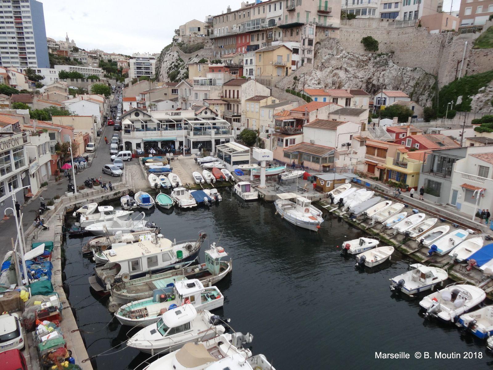 Le Vallon des auffes à Marseille (3 photos)