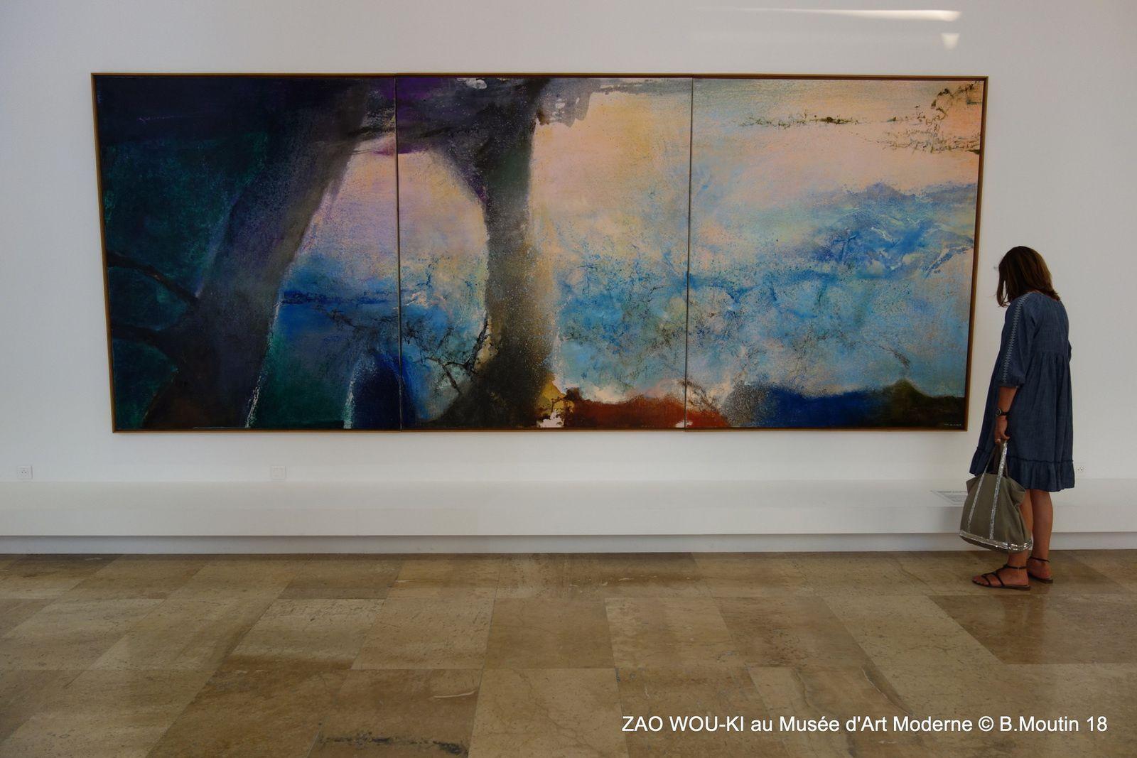 ZAO WOU-KI au Musée d'Art Moderne de Paris (jusqu'au 6 janvier 2019)