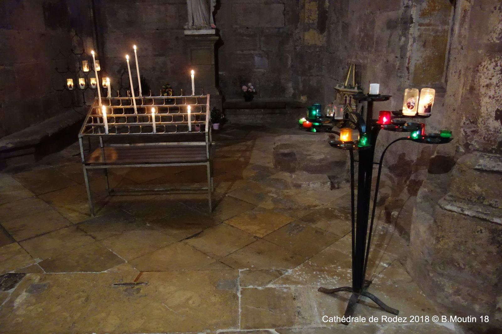 La très originale  cathédrale de Rodez