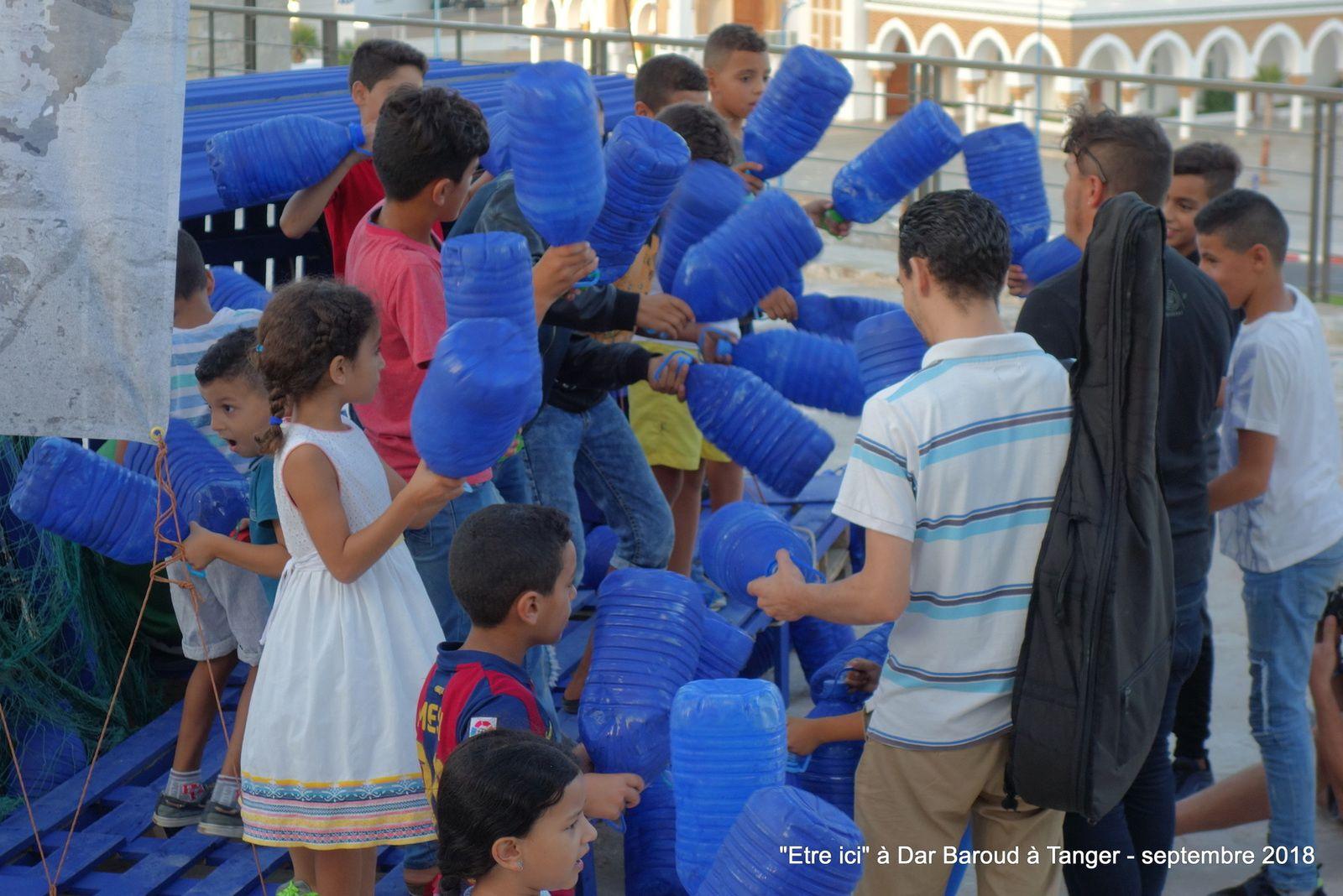 L'événement  ETRE ICI  à Dar Baroud à Tanger (9 Photos à cliquer)