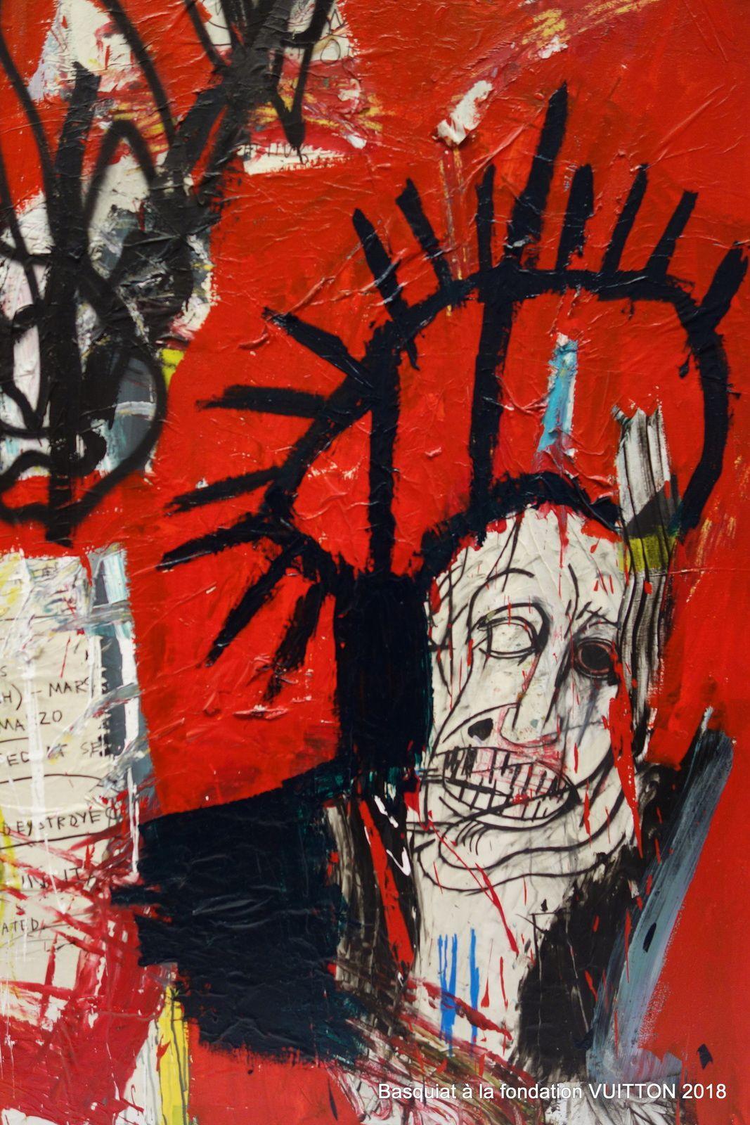 Basquiat à la fondation Vuitton (8 photos à cliquer)