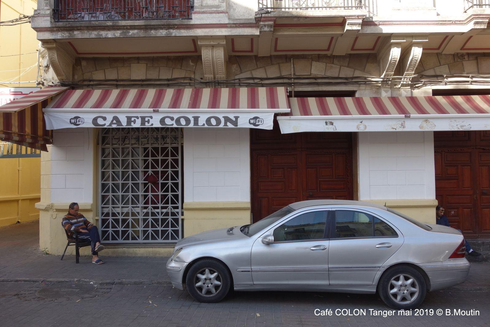 Le Café COLON pendant le Ramadan à Tanger (2 photos)
