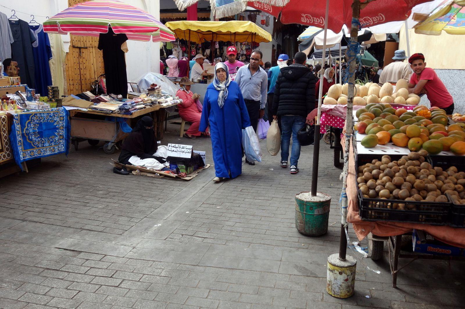 La Medina de Rabat (8 photos à cliquer)