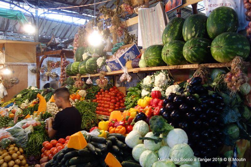 Images du Marché du Grand Socco à Tanger (4 photos)