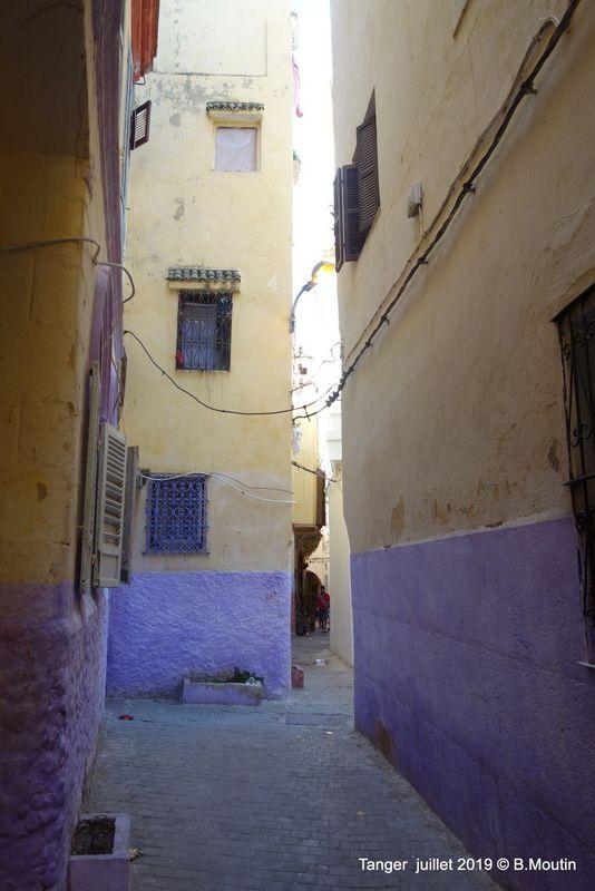 Ruelles du quartier Beni Idder de la Médina (7 photos)de Tanger