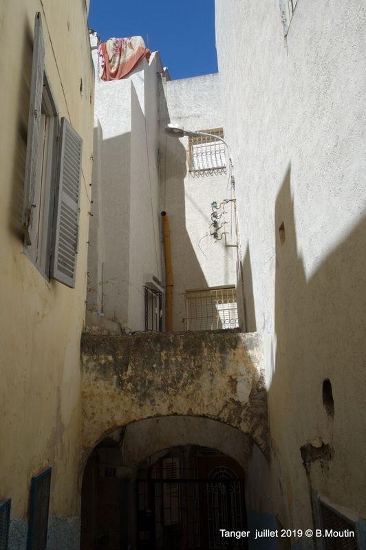 Ruelles du quartier Beni Idder de la Médina de Tanger (9 photos)