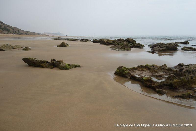 La plage de Sidi Mghait près de Asilah (6 photos)