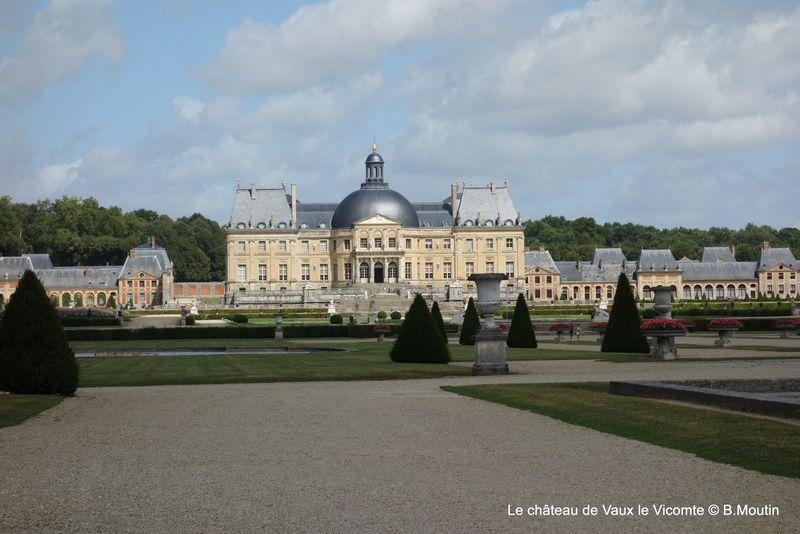 Le château de Vaux le Vicomte (5 photos à agrandir)