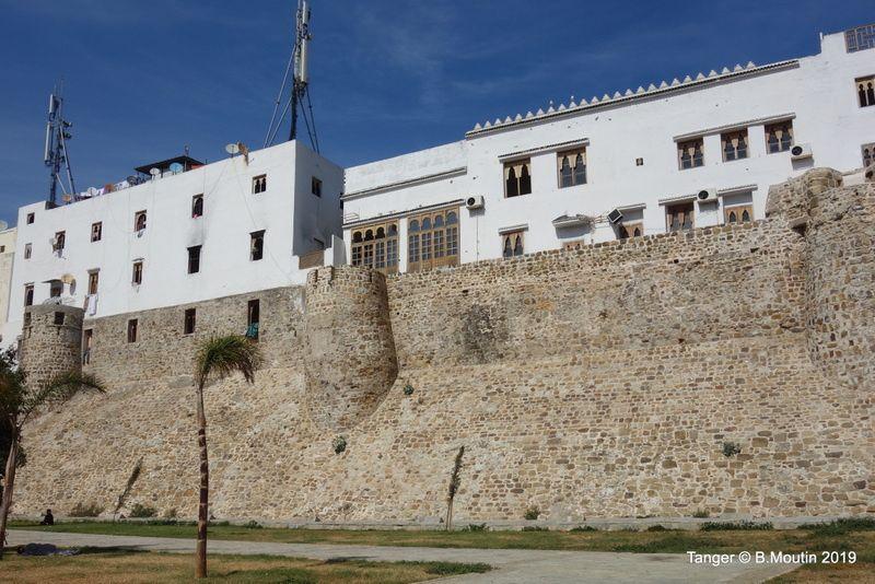Muraille de la Medina de  Tanger