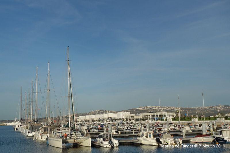 La marina de Tanger en septembre 2019 (3 photos)