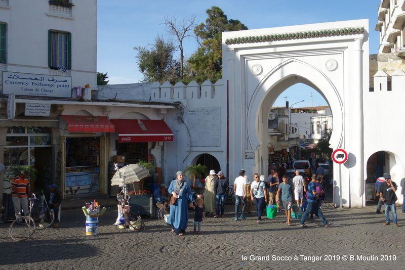 Le Grand Socco à Tanger (4 photos à cliquer)