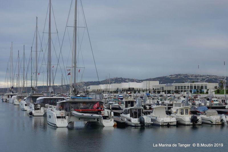La marina de Tanger est maintenant plutôt bien remplie