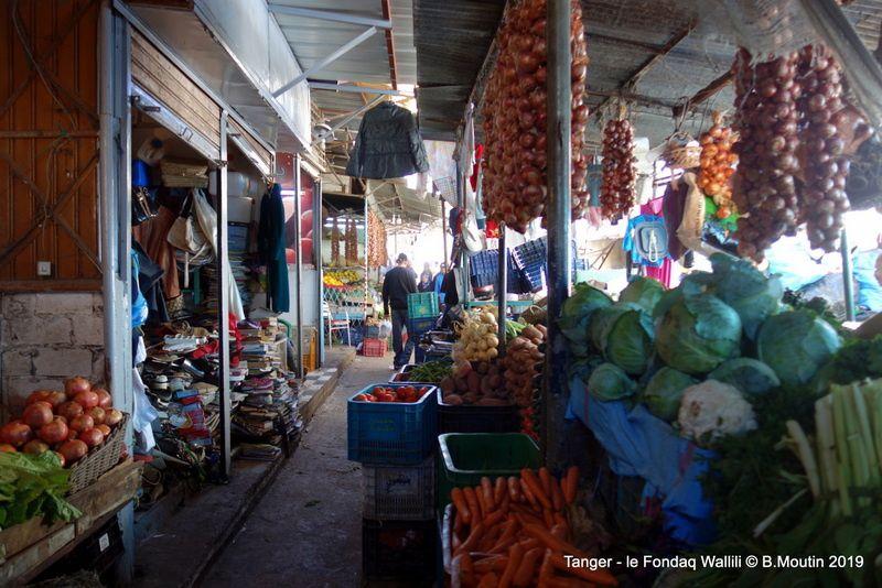 Le marché du Fondaq Wallili à Tanger