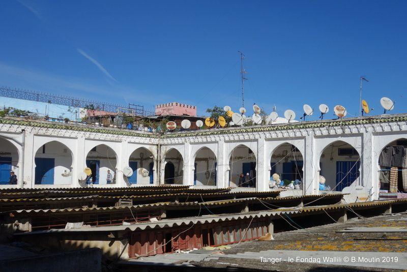 Le fondaq Wallili (ou Waller ?) à Tanger