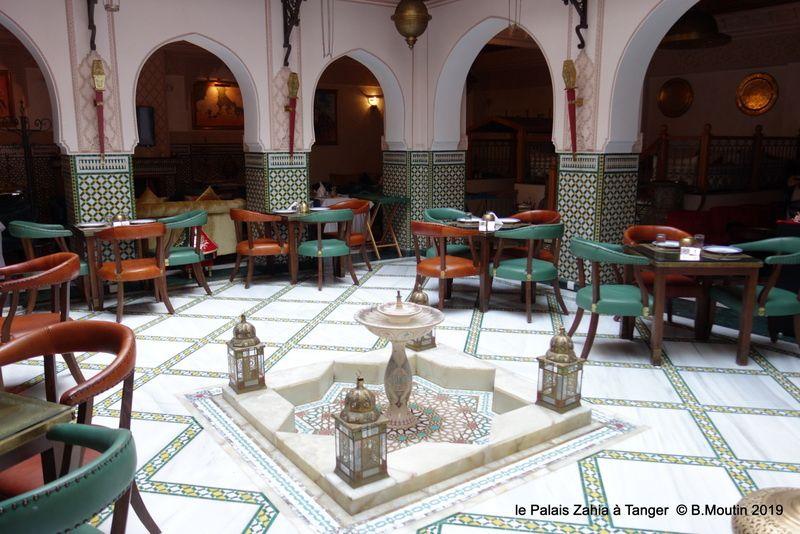 le Palais Zahia au petit Socco à Tanger