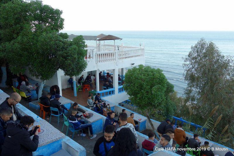 Le café HAFA un dimanche de novembre