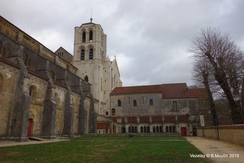 La basilique Sainte Marie Madeleine de Vezelay