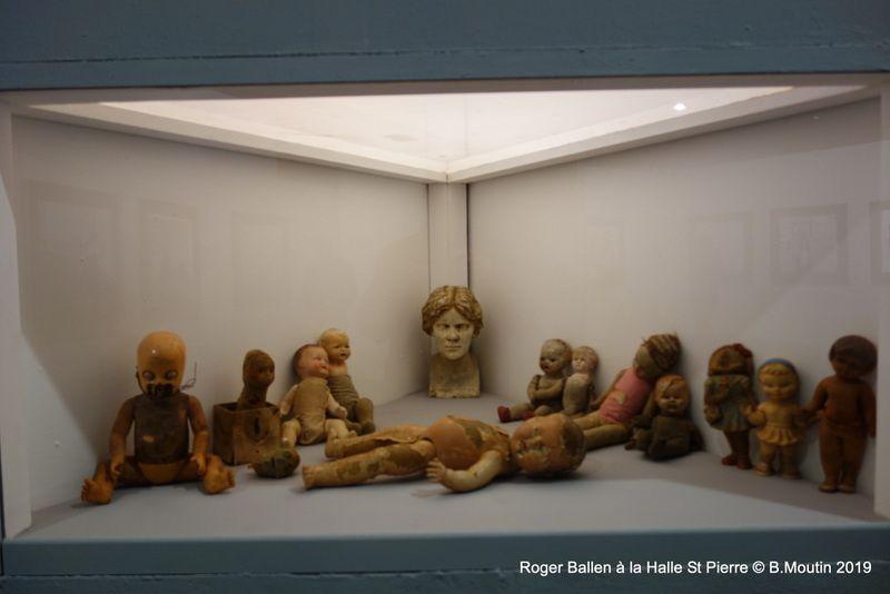 Roger BALLEN à la Halle St Pierre (partie 1 en 10 photos))