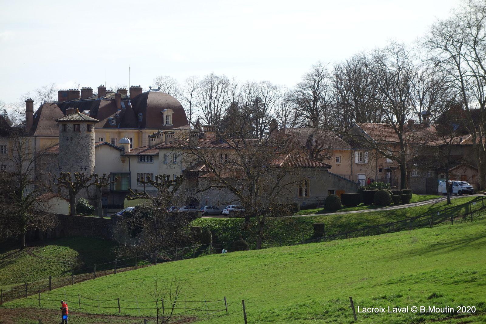 Le château de Lacroix Laval