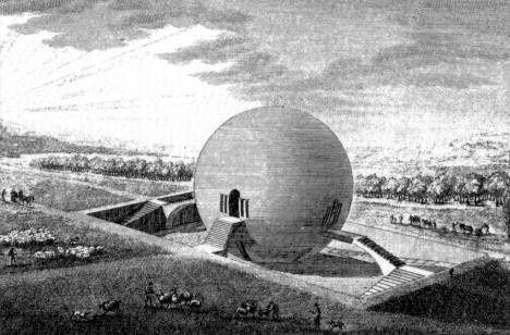 Redonner du sens à l'innovation (Claude-Nicolas Ledoux, Parc de Mauperthuis, Projet de maison des gardes agricoles)