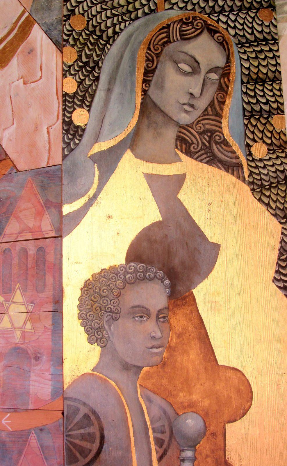 2 La fresque de l'apocalypse de Saint Emilion, suite