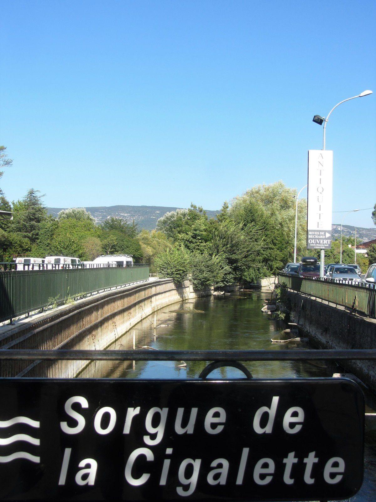Nous voici à l-Isle sur Sorgues, située dans le département du Vaucluse en région Provence-Alpes-Côte d'Azur.