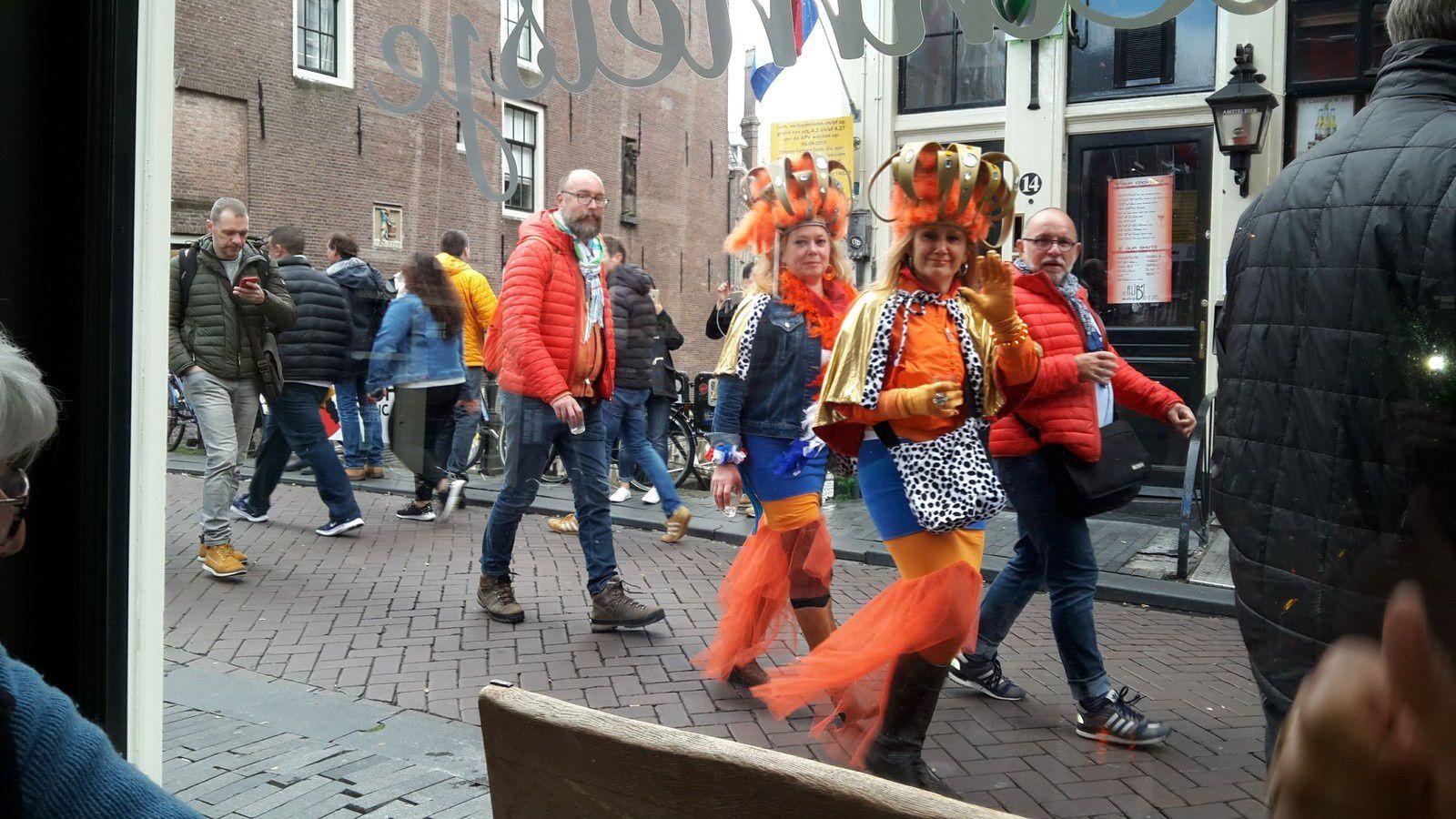 Amsterdam journée  du Roi