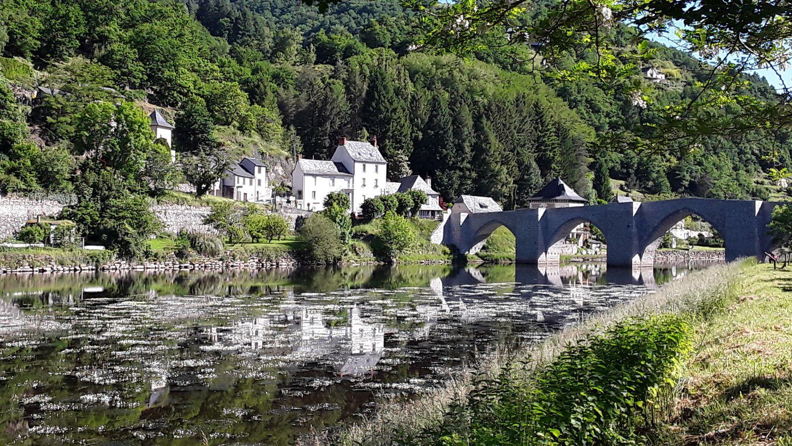 Pont gothique Entraygues  sur truyère