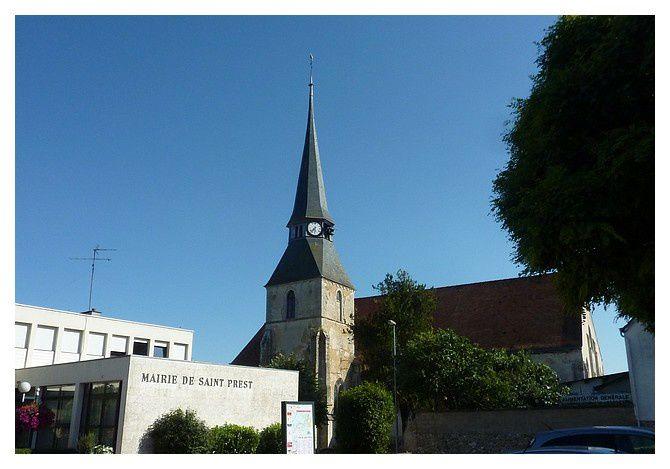 Saint Prest (28) : août 2013