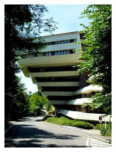 Ancien   hémicycle du Parlement européen à Luxembourg (1979-  1981), Centre de conférences