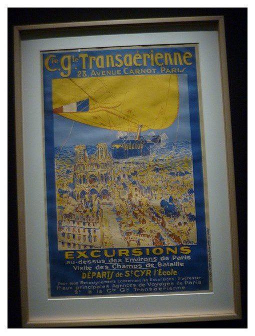 1919 visites des champs de bataille en dirigeable