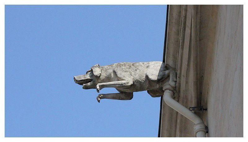 belle gargouille du Palais Ducal