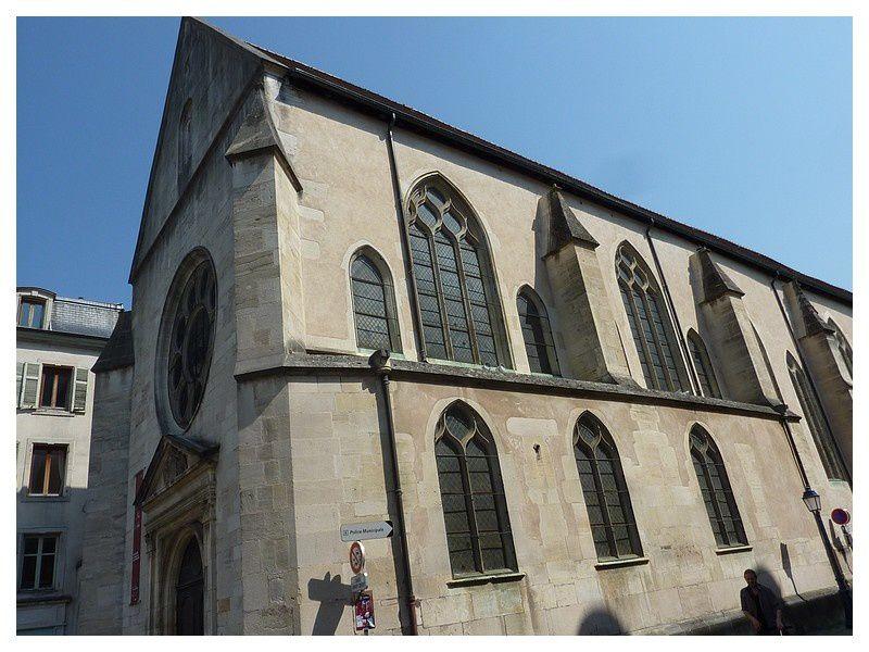 la chapelle des Cordeliers (du couvent et du Palais Ducal)