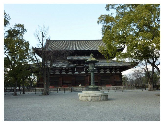 le Kondo, salle principale reconstruite en 1603