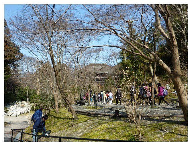 février 2013 : Kyoto : le temple Kiyomizu-dera