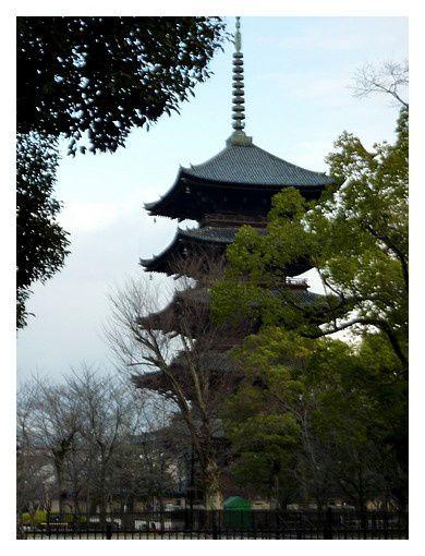 février 2013 : Kyoto, temple To-ji