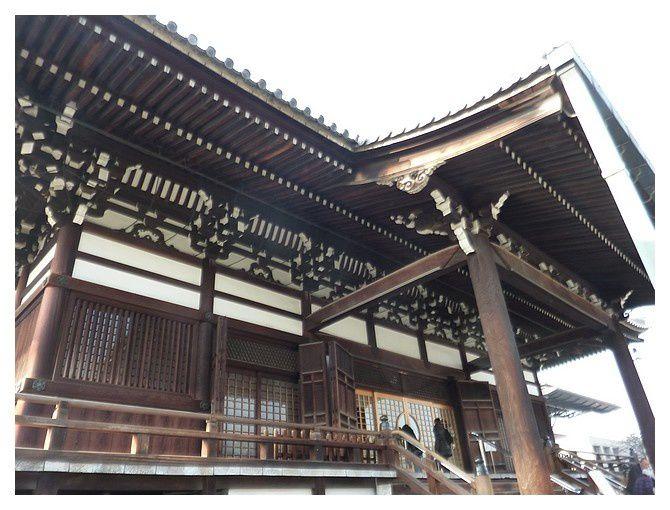 février 2013 : Osaka, le temple Isshin-ji