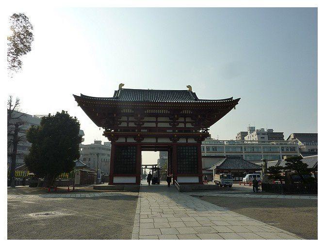 Grande porte Ouest (Gokuraku-mon)
